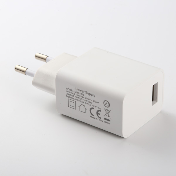 18W QC2.0 EU Charger