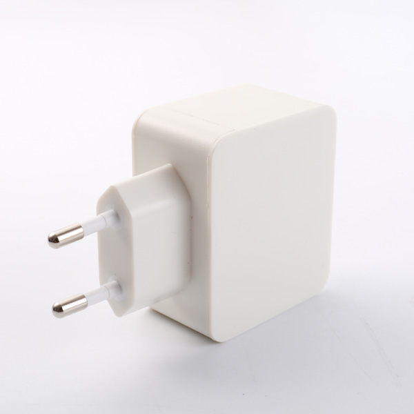 4.8A Dual Port EU USB Charger