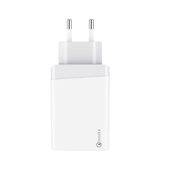 QC3.0 Quick charger 30W Dual USB EU 2