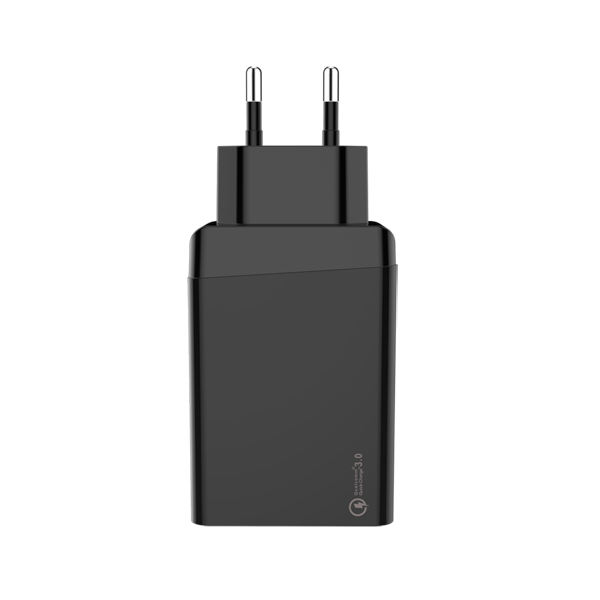 QC3.0 Quick charger 30W Dual USB EU 3