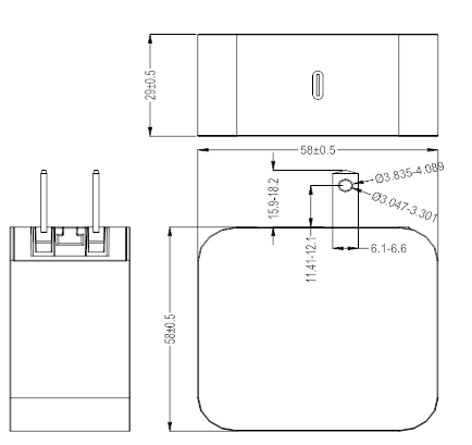 45W PD Charger drawing